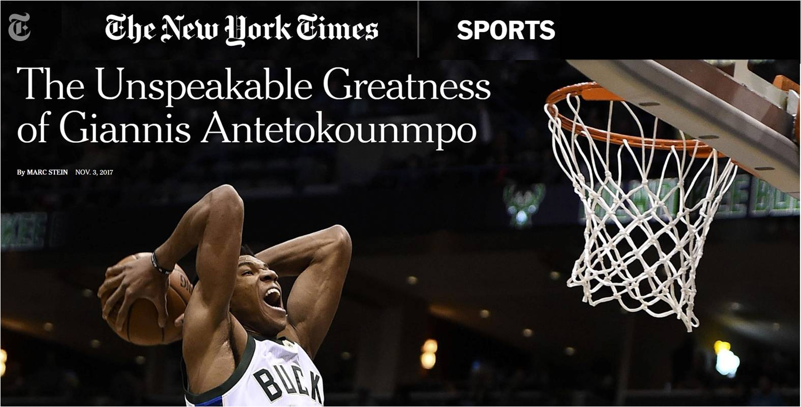 Giannis Antetokounmpo, NBA player and STR8 brand ambassador