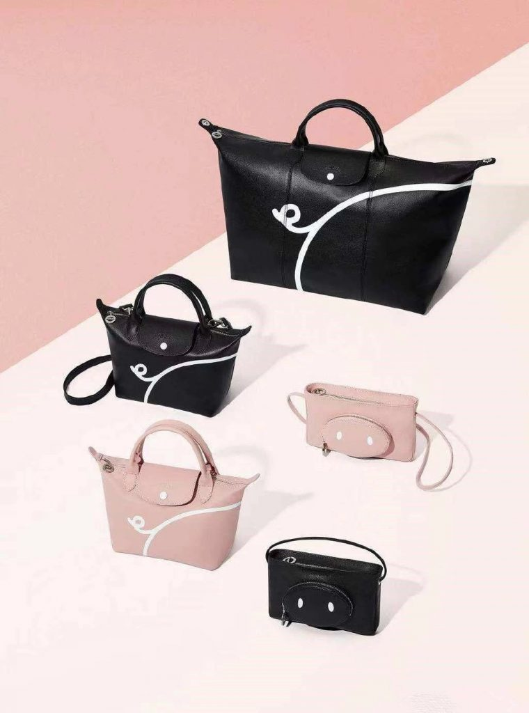 Longchamps x Mr Bags special editions for CNY